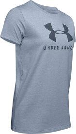 セール価格【公式】アンダーアーマー(UNDER ARMOUR)tシャツ レディースUA グラフィック スポーツスタイル クラシック クルー ( トレーニング トレーニングウェア フィットネス ウェア/Tシャツ/WOMEN ウーマン レディースS )