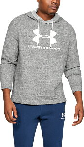 セール価格 公式 アンダーアーマー UNDER ARMOUR UA スポーツスタイル テリー ロゴフーディー トレーニング トレーニングウェア フィットネス ウェア パーカー メンズS d_2019_uu_メンズs_bottoms