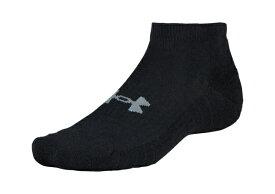 セール価格【公式】アンダーアーマー(UNDER ARMOUR)UA コットン ローカット ( トレーニング トレーニングウェア フィットネス ウェア/ソックス/UNISEX ) ソックス 靴下