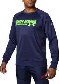 セール価格【公式】アンダーアーマー(UNDER ARMOUR)UAルーキーフリースクルー(ベースボール/野球/トレーナー/MENメンズ)