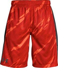 【アウトレット】【公式】アンダーアーマー(UNDER ARMOUR)ジュニア UA インスティンクトプリントショーツ ( トレーニング トレーニングウェア フィットネス ウェア/ショートパンツ/BOYS ジュニア ) 1299998