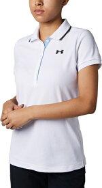 セール価格【公式】アンダーアーマー(UNDER ARMOUR)ポロシャツ レディース UAスレッドボーンピケポロ ( ゴルフ/ポロシャツ/WOMEN ウーマン レディース ) 1319516