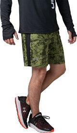 セール価格【公式】アンダーアーマー(UNDER ARMOUR)ハーフパンツ UAストレッチウーブンスピードポケット プリント7インチショーツ ( ランニング/ショートパンツ/MEN メンズ ) 1319683