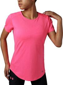 セール価格【公式】アンダーアーマー(UNDER ARMOUR)レディース tシャツ UAスピードストライドショートスリーブクルー ( ランニング/Tシャツ/WOMEN ウーマン レディース ) 1319944 d_2019_uu_ladies
