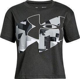 セール価格【公式】アンダーアーマー(UNDER ARMOUR)ジュニア tシャツ UAプリントフィルロゴショートスリーブ ( トレーニング トレーニングウェア フィットネス ウェア/Tシャツ/GIRLS ) 1327883