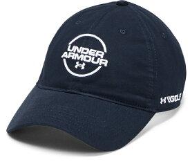 【公式】アンダーアーマー(UNDER ARMOUR)キャップ UAジョーダンスピース ウォッシュドコットンキャップ ( ゴルフ/キャップ/MEN メンズ ) 1328671