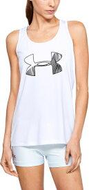 セール価格【公式】アンダーアーマー(UNDER ARMOUR)レディース tシャツ UAテックタンクグラフィック ( トレーニング トレーニングウェア フィットネス ウェア/Tシャツ/WOMEN ウーマン レディース ) 1328896