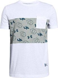 セール価格【公式】アンダーアーマー(UNDER ARMOUR)ジュニア tシャツ UAスポーツスタイル ポケットTシャツ ( トレーニング トレーニングウェア フィットネス ウェア/Tシャツ/BOYS ジュニア ) 1329098 トレーニング tシャツ メンズ ブランド