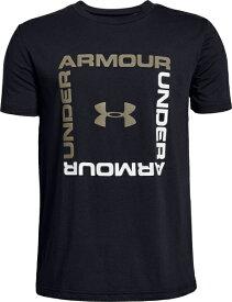 セール価格【公式】アンダーアーマー(UNDER ARMOUR)ジュニア tシャツ UAボックスロゴショートスリーブ ( トレーニング トレーニングウェア フィットネス ウェア/Tシャツ/BOYS ジュニア ) 1329099