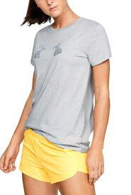 セール価格【公式】アンダーアーマー(UNDER ARMOUR)レディース tシャツ UAグラフィックビッグロゴクラシッククルー ( ライフスタイル/Tシャツ/WOMEN ウーマン レディース ) 1330348 d_2019_uu_ladies
