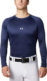公式 アンダーアーマー UNDER ARMOUR UAスピードテック フィッティドロングスリーブクルー ベースボール 野球 ベースレイヤー メンズ 1331487 トレーニング