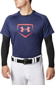 セール価格【公式】アンダーアーマー(UNDER ARMOUR)tシャツ UAビッグロゴベースボールシャツ ( ベースボール/野球/Tシャツ/MEN メンズ ) 1331502