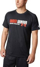 セール価格【公式】アンダーアーマー(UNDER ARMOUR)tシャツ UAテックテキストTシャツ ( ベースボール/野球/Tシャツ/MEN メンズ ) 1331506
