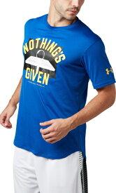 セール価格 公式 アンダーアーマー UNDER ARMOUR Tシャツ UAテックTシャツ Nothings Given バスケットボール Tシャツ メンズ 1331556 トレーニング tシャツ メンズ ブランド