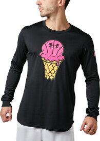 セール価格【公式】アンダーアーマー(UNDER ARMOUR)tシャツ UAテックロングスリーブ<ICECREAM> ( バスケットボール/Tシャツ/MEN メンズ ) 1331563