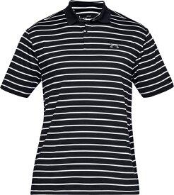 セール価格 公式 アンダーアーマー UNDER ARMOUR ポロシャツ UAパフォーマンスポロディボットストライプ ゴルフ ポロシャツ メンズ 1342082