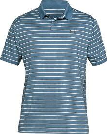 セール価格【公式】アンダーアーマー(UNDER ARMOUR)ポロシャツ UAパフォーマンスポロディボットストライプ ( ゴルフ/ポロシャツ/MEN メンズ ) 1342082