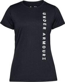 セール価格【公式】アンダーアーマー(UNDER ARMOUR)レディース tシャツ UAテックショートスリーブクルーワードマークグラフィック ( トレーニング トレーニングウェア フィットネス ウェア/Tシャツ/WOMEN ウーマン レディース ) 1345686