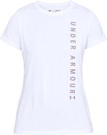 セール価格【公式】アンダーアーマー(UNDER ARMOUR)レディース tシャツ UAテックショートスリーブクルーワードマークグラフィック ( トレーニング トレーニングウェア フィットネス ウェア/Tシャツ/WOMEN ウーマン レディース ) 1345686 d_2019_uu_ladies