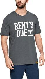 公式 アンダーアーマー UNDER ARMOUR Tシャツ UA Project Rock ショートスリーブTシャツ Stronger Than トレーニング トレーニングウェア フィットネス ウェア Tシャツ メンズ 1345812 トレーニング tシャツ メンズ ブランド