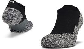 【公式】アンダーアーマー(UNDER ARMOUR) UAチャージド クッション ノーショー タブソックス(ランニング/UNISEX)1315590 ソックス 靴下