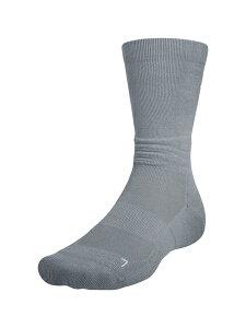 セール価格 公式 アンダーアーマー UAネクスト レベル クルーソックス バスケットボール メンズ 1355457 ソックス 靴下