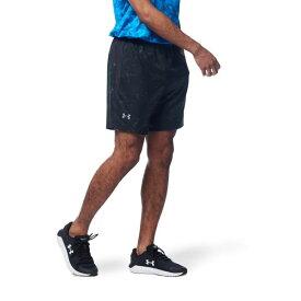 公式 アンダーアーマー UNDER ARMOUR UAスピードポケット 7インチ プリント ショーツ ランニング メンズ 1362574 ジョギング ウェア マラソン
