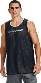 公式 アンダーアーマー UNDER ARMOUR UAベースライン リバーシブル タンク バスケットボール メンズ 1356866 タンクトップ