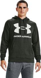 公式 アンダーアーマー UNDER ARMOUR UAライバルフリース ビッグロゴ フーディー トレーニング メンズ 1357093