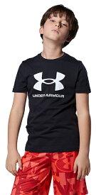 公式 アンダーアーマー UNDER ARMOUR UAスポーツスタイル ロゴ ショートスリーブ トレーニング ボーイズ 1363282