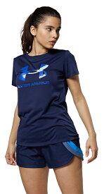 公式 アンダーアーマー UNDER ARMOUR UAテック ビックロゴ Tシャツ トレーニング レディース 1364211