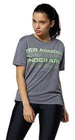 公式 アンダーアーマー UNDER ARMOUR UAテック ボックス グラフィック Tシャツ トレーニング レディース 1364216