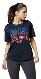 公式 アンダーアーマー UNDER ARMOUR UAテキストロゴ Tシャツ トレーニング レディース 1364669