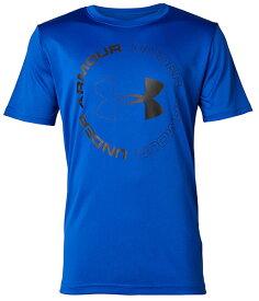 セール価格【公式】アンダーアーマー(UNDER ARMOUR)ジュニアUA テック ロゴ ブランド ショートスリーブ ( トレーニング トレーニングウェア フィットネス ウェア/Tシャツ/BOYS ジュニア ) トレーニング tシャツ メンズ ブランド