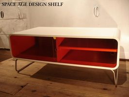 sale space age have design shelf shelf tv stand av board 70u0027s furniture plastic furniture to like