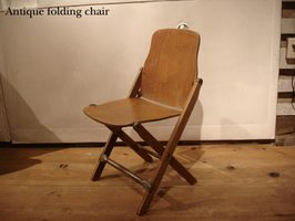 SALE Antique Foldinigchair Anti Forldingchair Wood Made In The USA American  Seating Company Wooden Folding Chair Chair