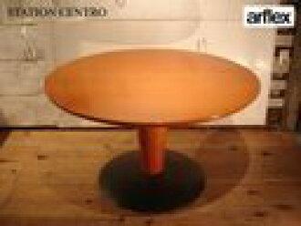 出售 alflex / 阿爾弗萊克斯公司站中心 / 站 Centro 實木餐桌木制圓輪義大利標價 45 萬日元