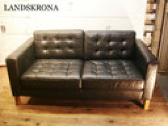 Outstanding Sale Ikea Ikea Landskrona 2P Leather Leather Black North Europe Furniture Sweden Chair Chair Chair Creativecarmelina Interior Chair Design Creativecarmelinacom