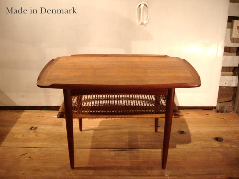 SALE Made In Denmark Coffee Table Wooden Scandinavian Furniture Antique  Wood Made In Denmark