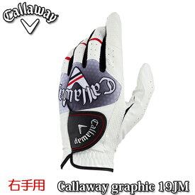 Callaway【キャロウェイ】Graphic メンズ ゴルフ グローブ【右手用】19 JM【グラフィック】