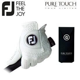 FOOTJOY【フットジョイ】PURE TOUCH ゴルフ グローブ (左手用) FGPU【ピュアタッチ】ネコポス