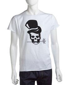 ルシアンペラフィネ lucien pellat-finet ペラフィネ Tシャツ 半袖 丸首 メンズ EVH1303 ホワイト×ブラック 送料無料 楽ギフ_包装 LPF値下げ