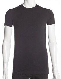 ディースクエアード DSQUARED2 Tシャツアンダーウェア Tシャツ 半袖 丸首 メンズ DCX410020 ブラック 楽ギフ_包装 【ラッキーシール対応】
