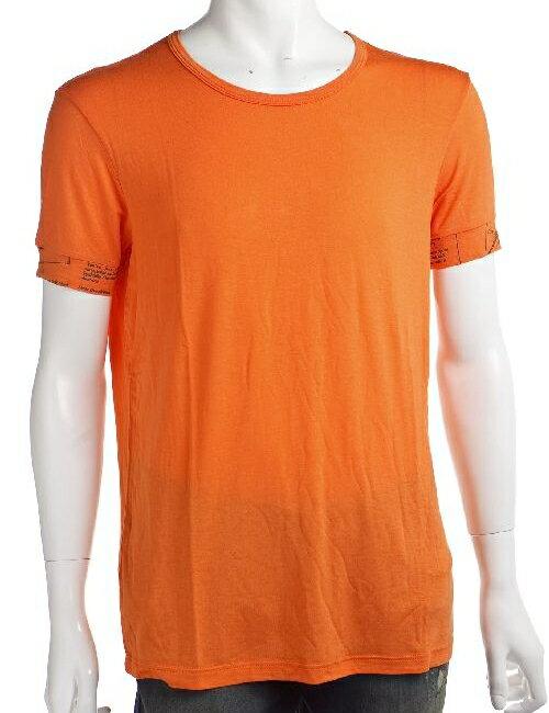 ジョンガリアーノ John Galliano ジョン ガリアーノ Tシャツアンダーウェア 半袖 丸首 メンズ T30 H462 オレンジ 楽ギフ_包装 アウトレット G-SALE