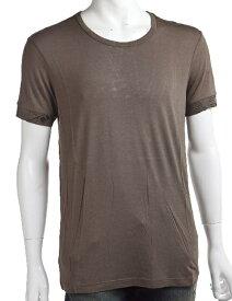 ジョンガリアーノ John Galliano ジョン ガリアーノ Tシャツアンダーウェア 半袖 丸首 メンズ T30 H462 ブラウン 楽ギフ_包装