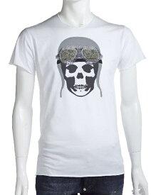 ルシアンペラフィネ lucien pellat-finet ペラフィネ Tシャツ 半袖 丸首 メンズ EVH1476 ホワイト 送料無料 楽ギフ_包装 LPF値下げ