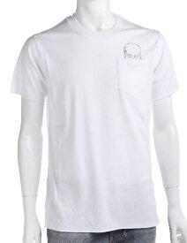 ルシアンペラフィネ lucien pellat-finet ペラフィネ Tシャツ 半袖 丸首 メンズ EVH1482 ホワイト 送料無料 楽ギフ_包装 LPF値下げ