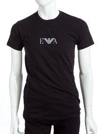 アルマーニ エンポリオアルマーニ Emporio Armani Tシャツアンダーウェア Tシャツ 半袖 丸首 メンズ 111267 CC715 ブラック 楽ギフ_包装 【ラッキーシール対応】