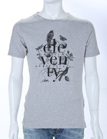 イレブンティ eleventy Tシャツ 半袖 丸首 メンズ 979TS0001 19007 グレー 楽ギフ_包装 送料無料 【ラッキーシール対応】