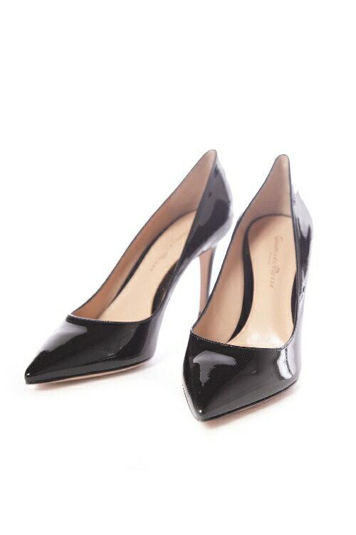 ジャンヴィトロッシ GIANVITO ROSSI パンプス ハイヒール VERNERO 靴 レディース G24580 85RIC ブラック 送料無料 2017SS_SALE